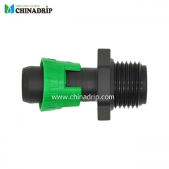 drip tape male thread lock ring coupling